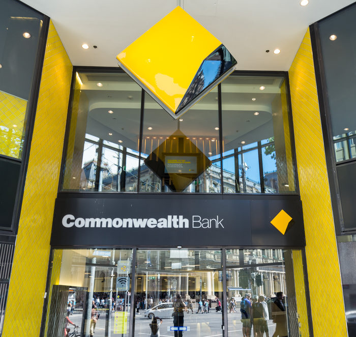 Commonwealth Bank's first-half profits are down by 11%